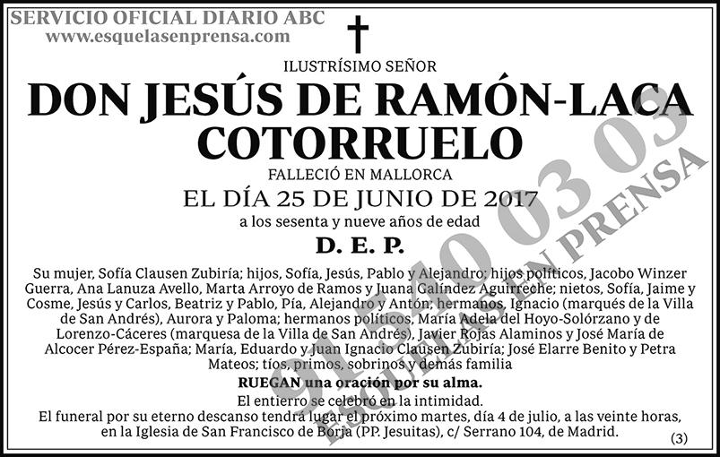 Jesús de Ramón-Laca Cotorruelo